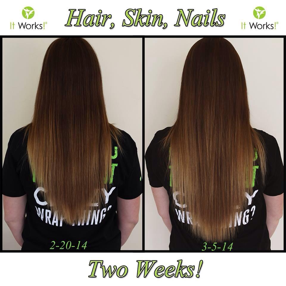 Hair, Skin and Nails, oh My! | WrappinGirls – my It Works Life!